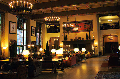 Great Room of the Ahwahnee Hotel