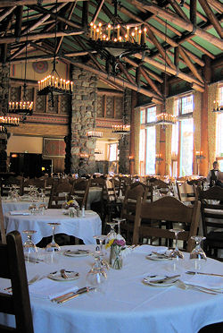 Grand Dinning Room at the Ahwahnee