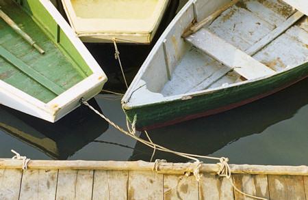 Escape dock boats