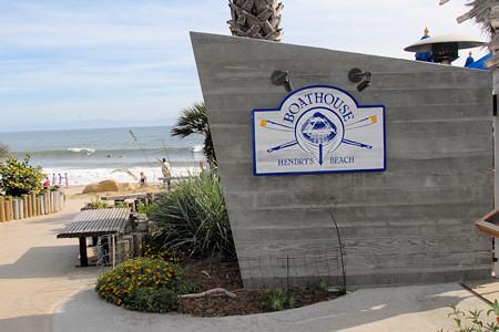 Boathouse at Hendry's Beach, Restaurant Entrance