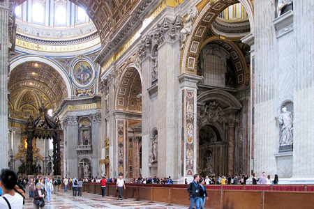 St Peters Rome Italy - shot using a SteadePod