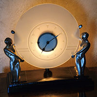 Hearst Castle Art Deco Clock