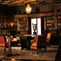 Hearst Castle library Room