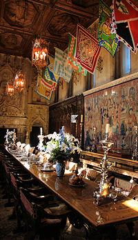 Hearst Castle Dinning Room