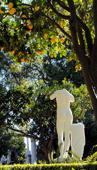 Hearst Castle Sculpture Garden