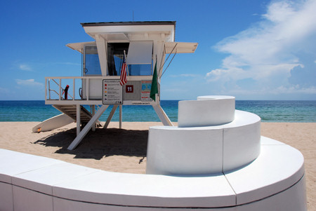fort lauderdale lifeguard tower