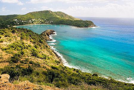 Antigua Island Coastline
