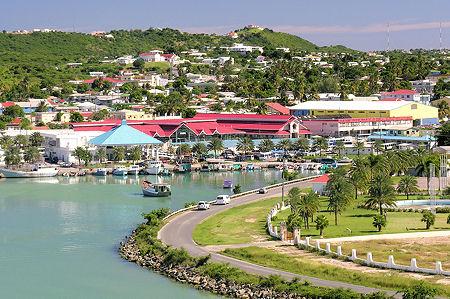 St. John's Harbor on Antigua