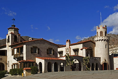 scotty's castle in death valley california