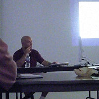 Ralph Velasco teaching at Calumet Photographic
