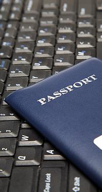 Keyboard and Passport