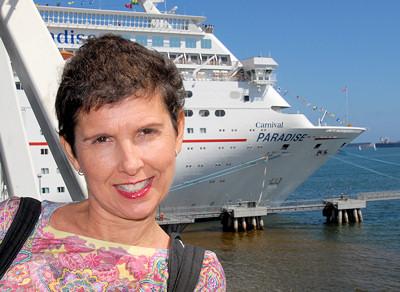 Carnival Paradise Cruise Ship in Long Beach CA
