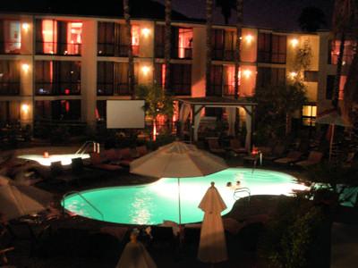 Riviera rear / second pool