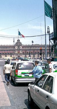 Mexico City Street Photo by Bruce Murray