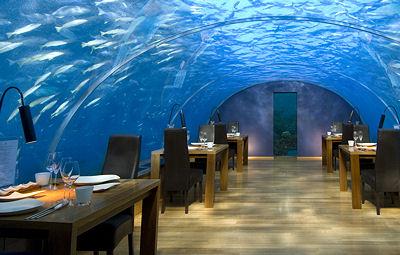 Ithaa Undersea Restaurant Maldives
