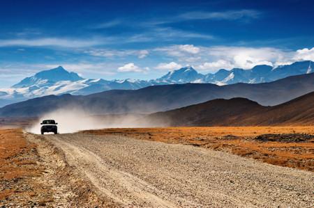 Tibetan Highlands and Mount Everest
