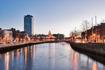 Dublin Ireland Liffey Quays