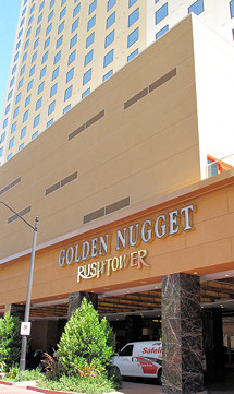 Gold Nugget Hotel and Casino, Rush Tower, Las Vegas
