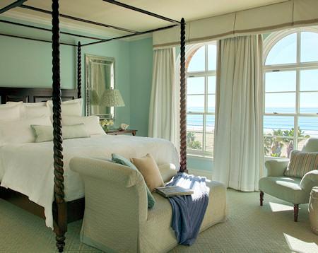 Casa del Mar ocean view guest room.