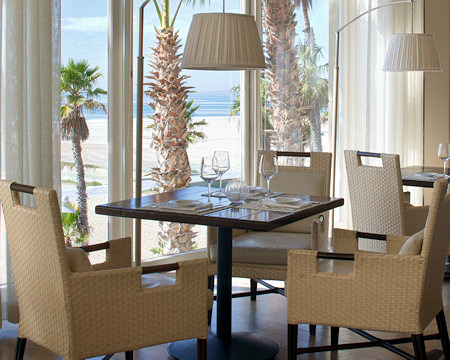 View of the ocean from the Catch dinning room.