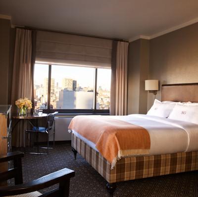Corner King Room at SoHo Grand Hotel