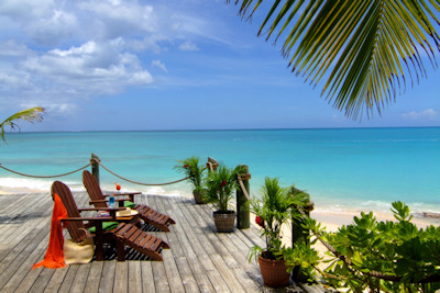Antigua's Galley Bay Resort and Spa ocean view.