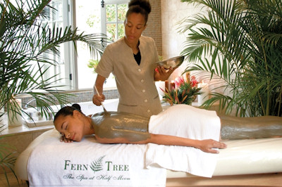 Fern Tree Spa at Half Moon resort in Half Moon Jamaica.