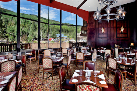 Lord Gore restaurant at the Manor Vail Lodge Colorado.