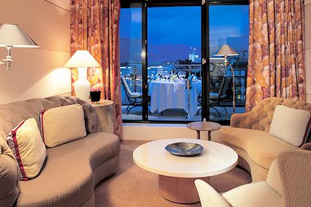 Suite at the Le Richemond Hotel Geneva.