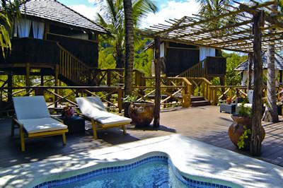 Resorts spa pool.