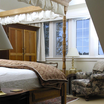 Grand King Suite at the Kingbrae Arms hotel.