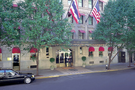 Entrance to the Plaza_Athenee of New York City