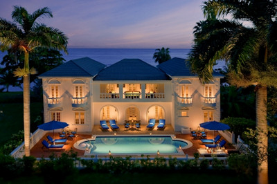 Royal Villa at the Half Moon Resort in Jamaica.