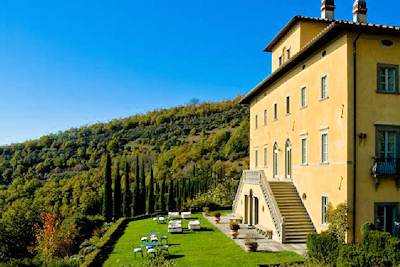 The Palazzo Terranova in Perugia Italy