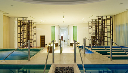 Hydrotherapy / Spa Facilities at the resort.