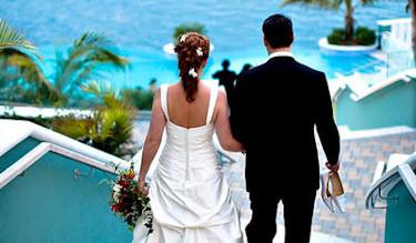 A beautiful Bermuda bride.
