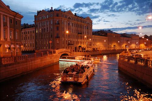 Saint Petersburg Canal Tour
