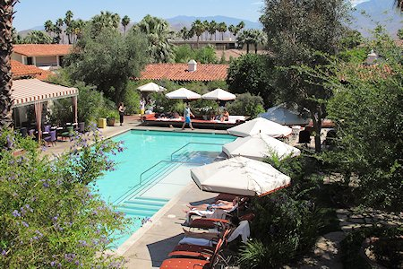 Pool at the Colony Palms Hotel