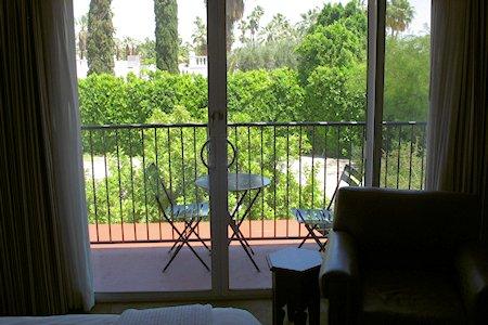 Balcony on room #33