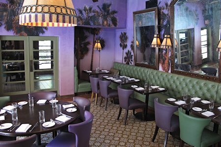Purple Palm restaurant at The Colony Palms Hotel
