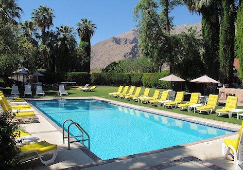 Pool at the Ingelside Inn Palm Springs California
