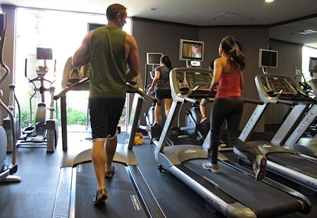 Fitness Center at the Riviera located just next to Spa