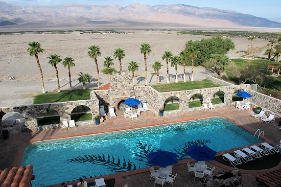 Pool at The Inn at Furnace Creek, Death Valley California