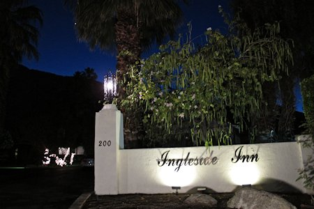 Entrance to the Ingleside Inn Palm Springs