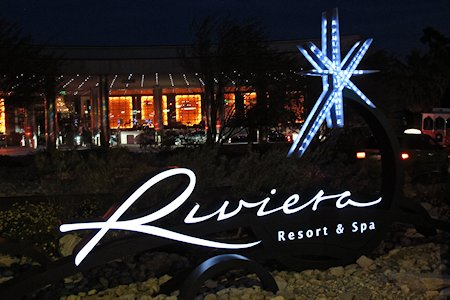 Riviera Resort & Spa Entrance Palm Springs California