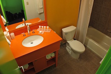 Bathroom at The Saguaro