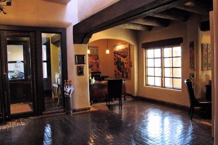 Lobby of the La Posada
