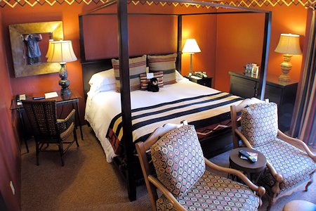Interior of room #311 at the Inn At Loretto.