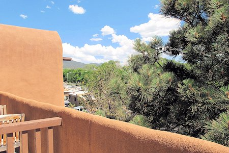 View of Santa Fe New Mexico for the patio.