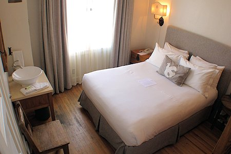 Room #212 at the Hotel Saint Francis, Santa Fe
